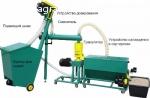 Малая линия гранулирования биомассы  MGL 100 / 200 / 400 / 6