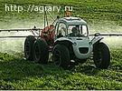 Опрыскиватель самоходный полевой штанговый ОПШ РОСА